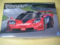 アオシマ 1/24 スーパーカー No.13 マクラーレン F1 GTR 1997 ルマン24時間 #44
