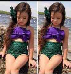 人魚姫 アリエル 水着 ビキニ 130 140