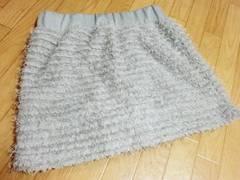 JIGGY フリンジパンツ付きショートミニスカート