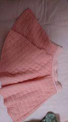 即決☆MサイズINGNI☆ピンクのキルト地ミニスカート
