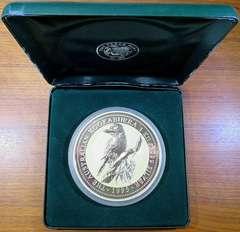 オーストラリア 1995年度 カワセミ銀貨 30ドル 1kg