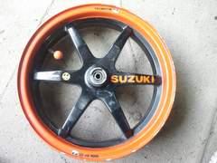 [AO9]SUZUKI ZZ用中古フロントホイール アドレス110にも