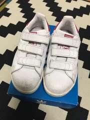 adidas スタンスミス キッズ 17.5cm ピンク
