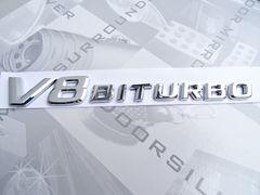 ベンツ V8 BI TURBO エンブレム 63用