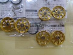 ベアリング内蔵 21mm超大径アルミローラーセット (3個セット)