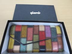 glambパッチワーク長財布
