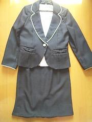 美品ジャケット&スカート&シフォン半袖。入園。入学。七五三。卒業13号スーツ