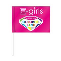 E-girls COLORFUL LAND フラッグ Flower HIGH&LOWにも