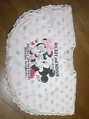 ディズニー/ミッキー&ミッキー/ポンチョ/Tシャツ/160/白
