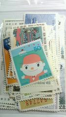 【未使用】いろんな50円切手50枚 <バラ> �A