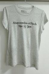 ☆アバクロ☆Tシャツ ライトグレー半袖Abercrombie&FitchカリフォルニアLA