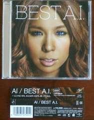 (CD)AI/アイ☆BEST A.I.[通常盤]★帯付き♪ベスト♪即決アリ♪