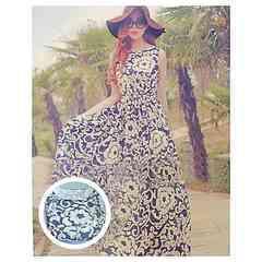 AA20 ラグジュアリーファッションのサマードレスM