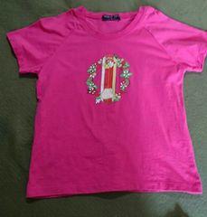 新品 Tシャツ ピンク ムーンライトフィールド