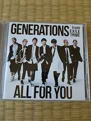 GENERATIONS ALLFORYOU  CD