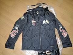 新品ネイバーフッドNEIGHBORHOODスーベニアジャケットS黒ベト