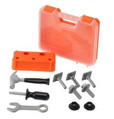 【新品】IKEA(イケア) DUKTIG ドゥクティグ工具箱 おもちゃ