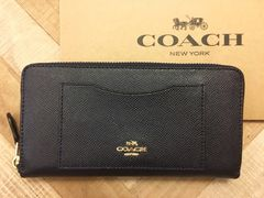 《送料込》  COACH コーチ 長財布