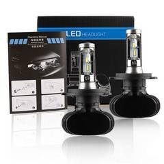 H4 Hi/Lo LED ヘッドライト 車用6000K DC9V-36V