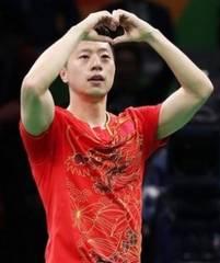 卓球ユニフォーム オリンピック金メダリスト使用モデル(赤L)