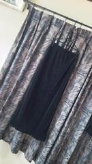mon-traje☆日本製ボディフィット美ライン極細プリーツロングタイトフレアスカート