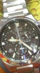 CITIZEN日本製アテッサGN-4W-Sエコドライブソーラー電波腕時計