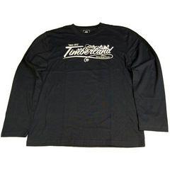 新品☆ティンバーランド/長袖Tシャツ/M/黒/TIMBERLAND