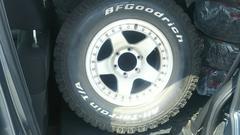 四駆用 タイヤ&ホイール 16in×8j 265/70R16 4本セット