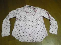 シャツ/長袖/Mサイズ/ピンク/まとめ買い歓迎