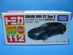 ◆初回特別仕様トミカ★スバル☆WRX STI TypeS★未開封◆