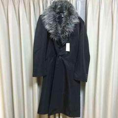 新品 ロングコート アウター ジャケット ブラック Mサイズ