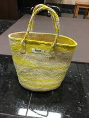 ロンハーマン 黄色籠バッグ 新作未使用 即完売
