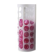 IKEA☆プラスチック袋ディスペンサー(ホワイト)送料込み