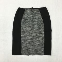 リナオク H&M エイチアンドエム 切り替え タイトスカート 黒