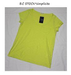 B.C STOCK*simpliciteマーブルヴィンテージTシャツ新品