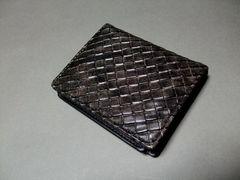 【即決 激安】使い勝手良し〜^^合皮2つ折 新品 黒っぽい系