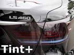 Tint+何度も貼れるレクサスLS460/LS600h後期テールランプ スモークフィルム