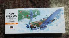 ハセガワ1/72  アメリカ陸軍 戦闘機 P-40N ウォーホーク