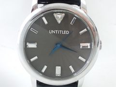 7720/UNTIULEDバケットダイヤ風デザイン豪華なメンズ腕時計★カッコイイ