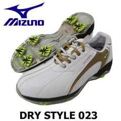 新品MIZUNOミズノ22.5cm DRY STYLE023 レディースゴルフシューズ 45KW