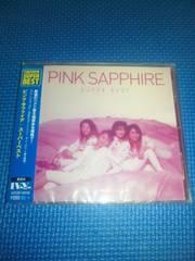 ピンクサファイア 新品CD「スーパーベスト」TSUTAYA SUPER BEST PINK SAPPHIRE