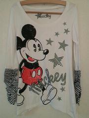 美品質☆ロンT*ミッキーマウス