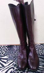 プールサイドブラウンブーツ23.5cm