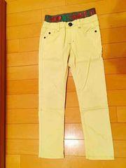 ストレッチパンツ/黄色/130