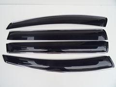 高品質安心ビス付き メッキモール ドアバイザー トヨタ ウィッシュ 10系