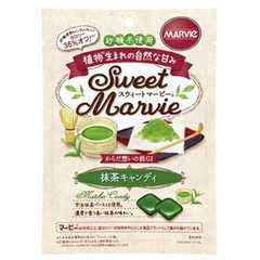 砂糖不使用マービー抹茶キャンディー49g×6袋ダイエットや糖尿病にオススメ!