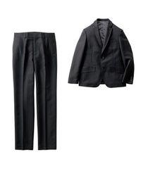 ☆卒業・入学式☆男の子ゆったりサイズスーツ上下セット(140)