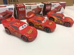 トミカカーズ ライトニング・マックィーン3種3台セット! 新品