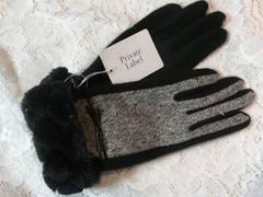 プライベートレーベルニット手袋ラッピング