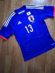 アディダス/サッカー/日本代表2014/ユニフォーム/#13/大久保/Sサイズ